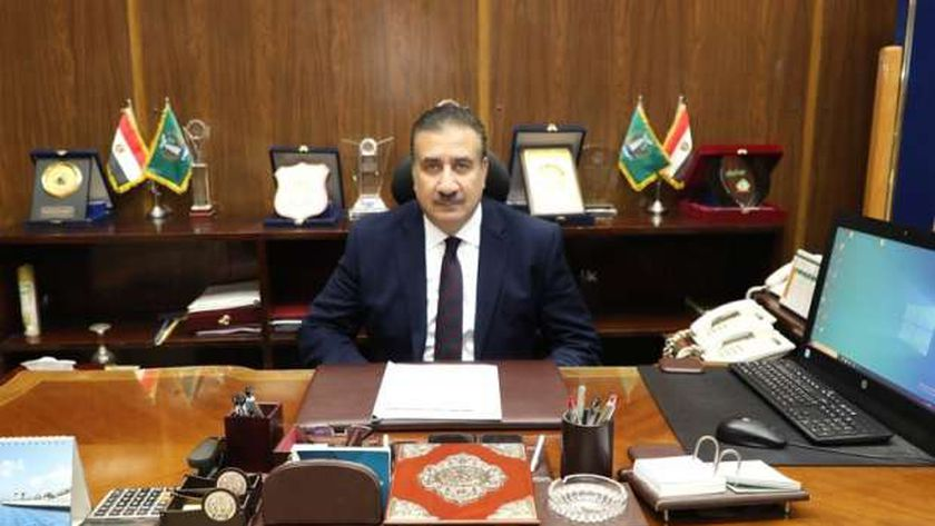 اللواء إبراهيم أحمد أبو ليمون، محافظ المنوفية