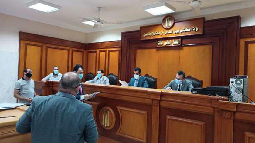 هيئة المحكمة الاقتصادية بالإسماعيلية