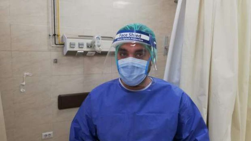 الدكتور محمد ابو طالب ، احد ابطال الجيش الابيض فى بلطيم