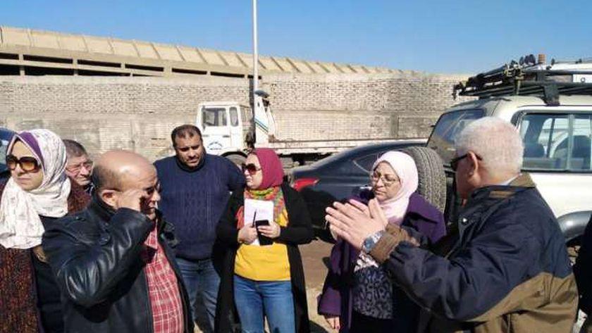 نائب المحافظ تتفقد سوق التونسى ..صورة أرشيفية