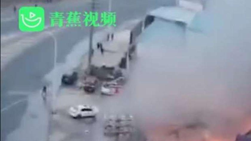 مقتل 3 أشخاص جراء انفجار أنبوب غاز طبيعي شمال شرقي الصين
