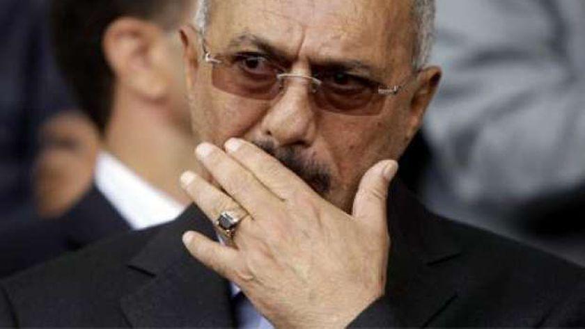 الرئيس اليمني السابق-علي عبدالله صالح-صورة أرشيفية