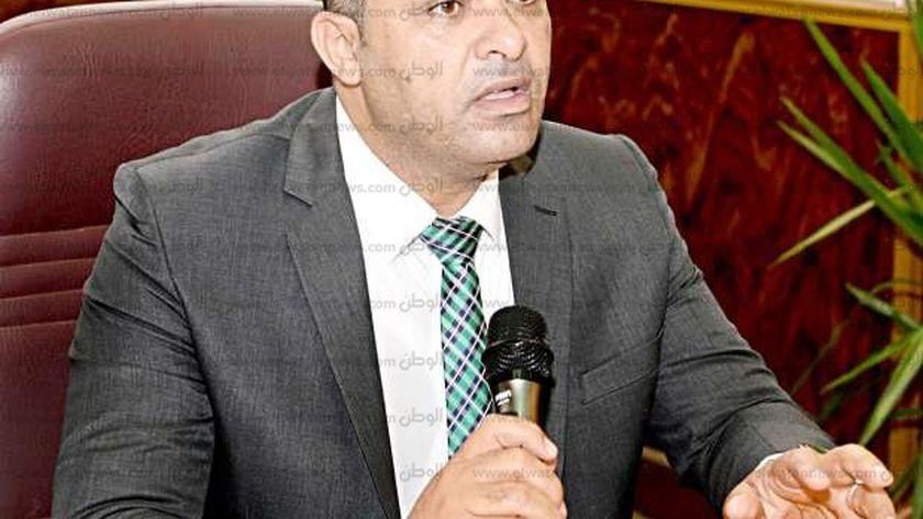 الدكتور محمد عبد العظيم - عميد كلية الهندسة - جامعة المنصورة