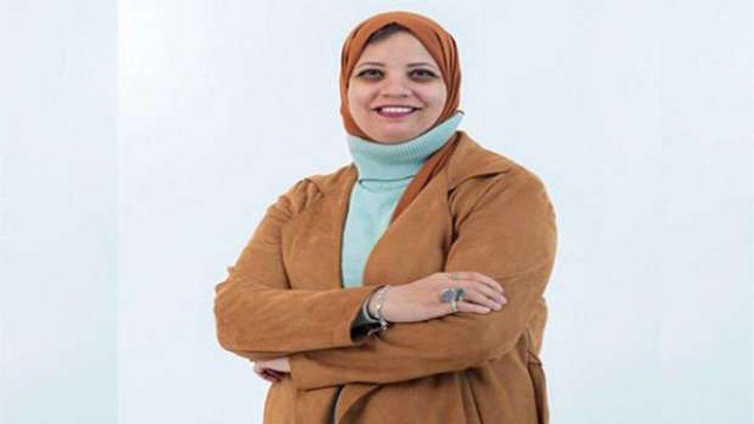 د.ايمان سلامة مقرر اللجنة الاجتماعية  بنقابة الأطباء