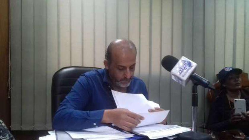 محمد شبانة سكرتير عام نقابة الصحفيين