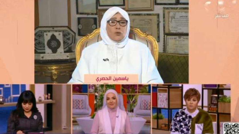 ياسيمن الحصري.. الداعية الإسلامية