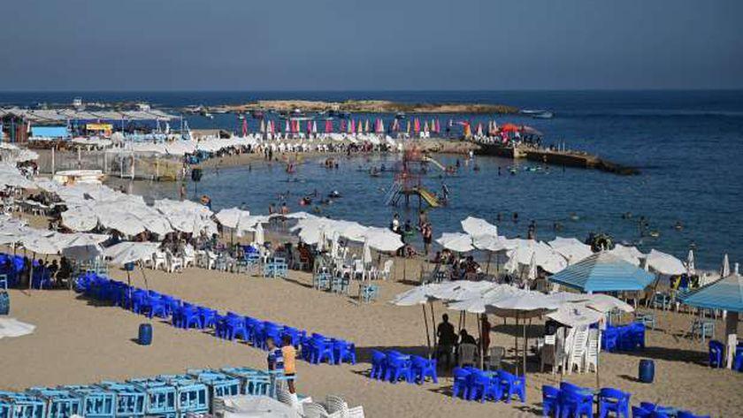 شواطئ الإسكندرية في عيد الأضحى