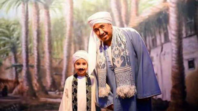 الشاب خالد خلال تصوير الإعلان