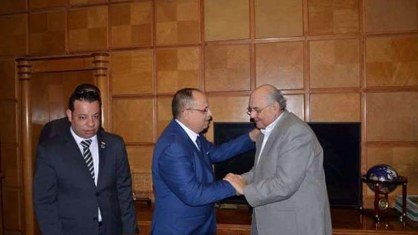 لجنة العلاقات السياسية الدولية بحزب الغد