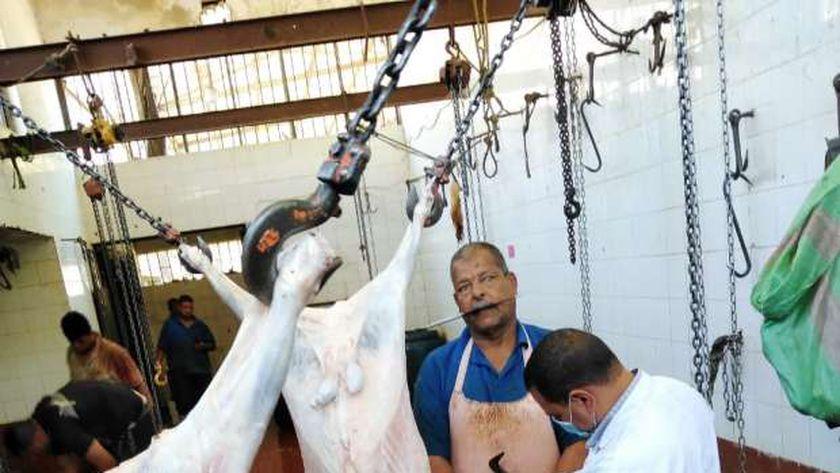 حملة علي المجازر والأسواق وشوادؤ بيع اللحوم