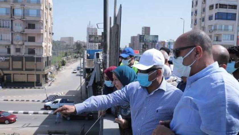 وزير النقل يتفقد مشروع تطوير طريق «المنصورة - جمصة»