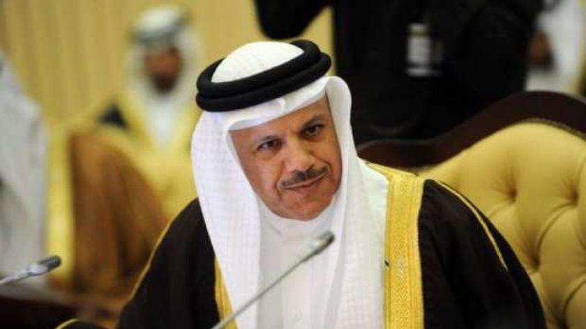 وزير خارجية مملكة البحرين الدكتور عبداللطيف بن راشد الزياني