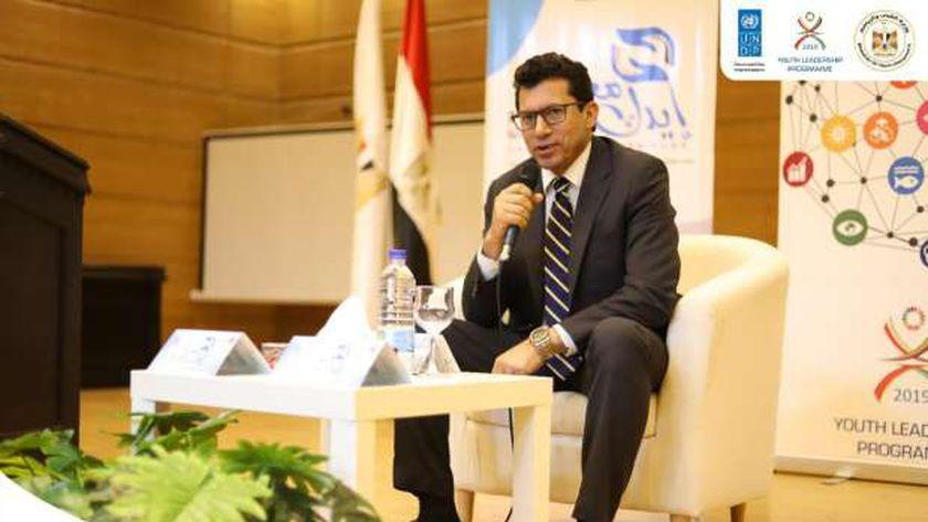 د.اشرف صبحي وزير الشباب والرياضة