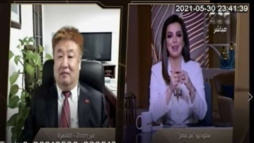 الوزير المفوض للشئون الثقافية بالسفارة الصينية بالقاهرة، شي يويه ون،