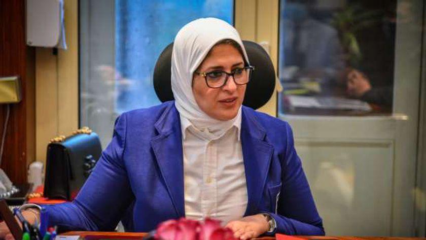 الدكتورة هالة زايد .. وزيرة الصحة والسكان
