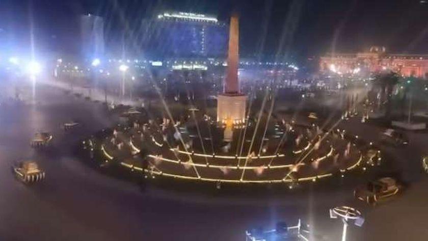 تجهيزات ميدان التحرير لنقل الممياوات