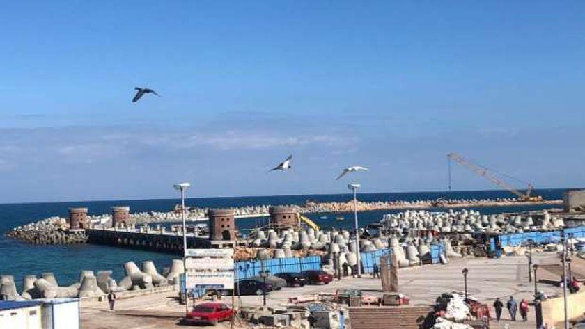 مشروعات حماية الشواطئ من الغرق
