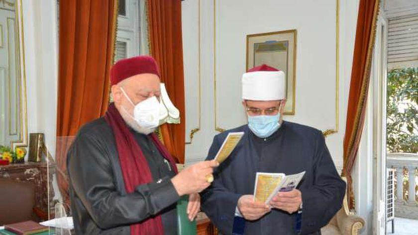 وزير الأوقاف يستقبل رئيس لجنة الشئون الدينية بمجلس النواب لمناقشة التعاون المشترك
