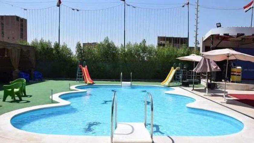 حمامات السباحة أحد المشروعات الاستثمارية بمراكز الشباب