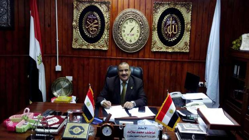عاطف سلامة وكيل وزارة التربية والتعليم بمطروح