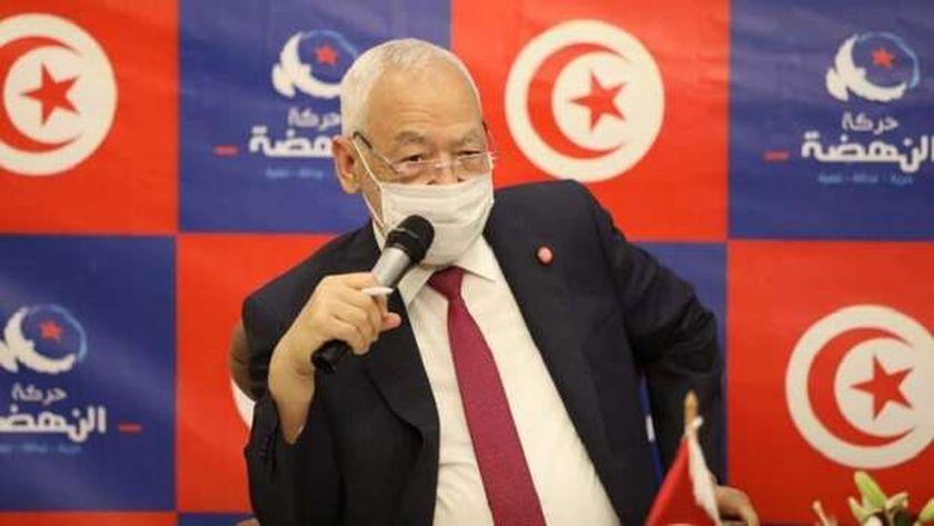 راشد الغنوشي رئيس حزب النهضة التونسي