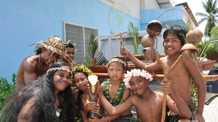 سكان جزيرة ناورو