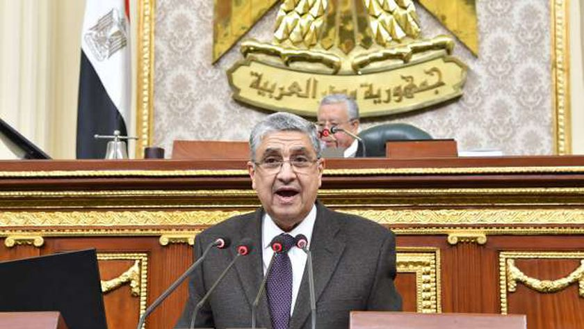 د.محمد شاكر وزير الكهرباء والطاقة
