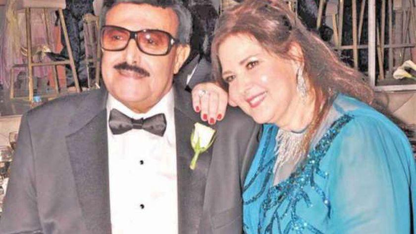 دلال عبدالعزيز وسمير غانم