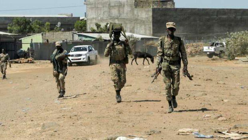 عناصر من الجيش الإثيوبى