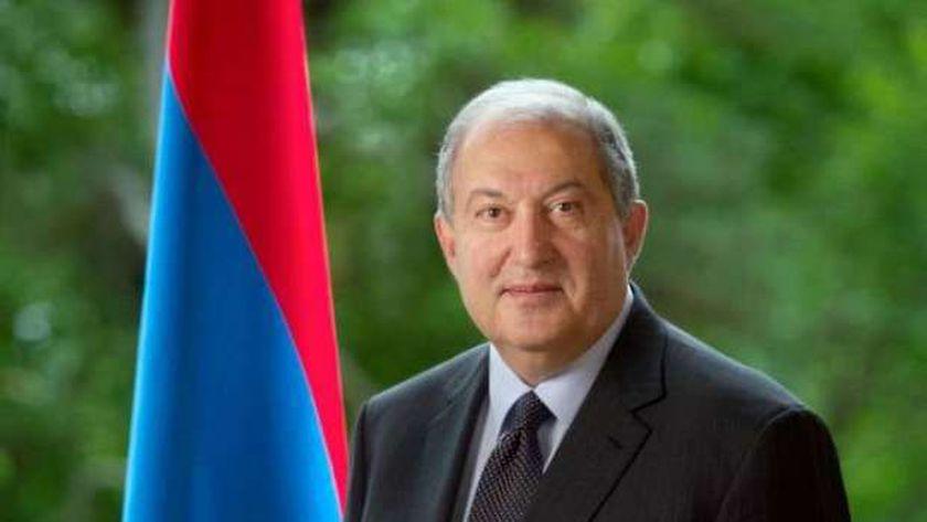 الرئيس الأرميني - أرشيفية
