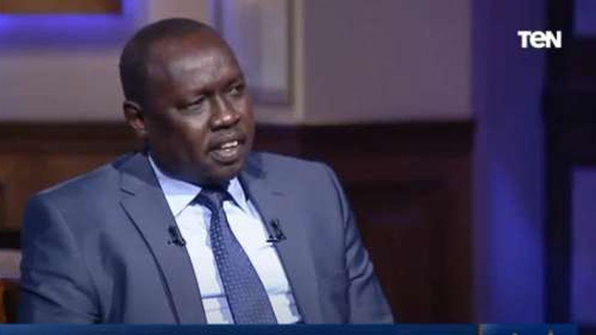 مانوا بيتر، وزير الموارد المائية والري بدولة جنوب السودان