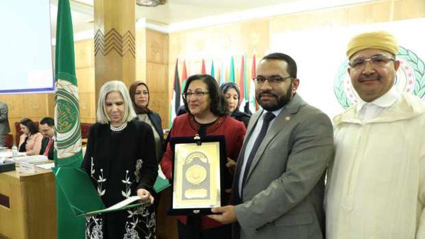 خلال  الدورة العادية الـ (53) لمجلس وزراء الصحة العرب