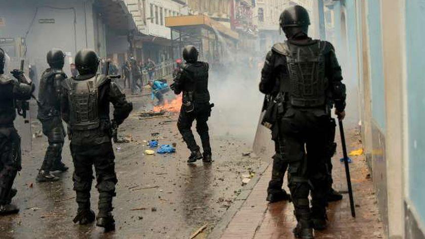 تشهد دولة الإكوادور اضطرابات من وقت لآخر