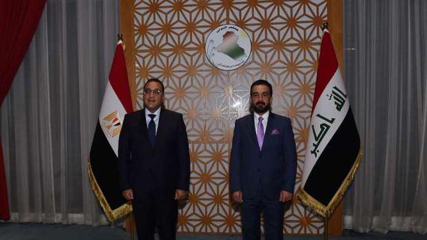 رئيس الوزراء يلتقي رئيس مجلس النواب العراقى