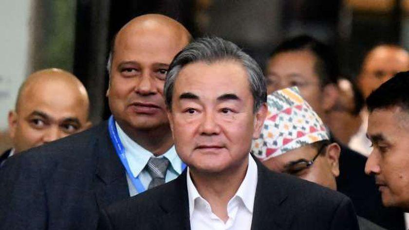 وزير الخارجية الصيني وانج يي