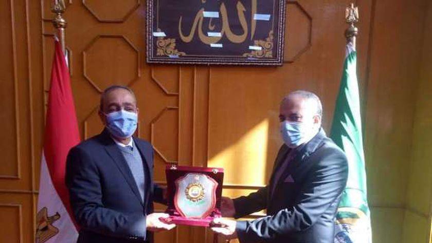 تكريم الدكتور سعيد السقعان
