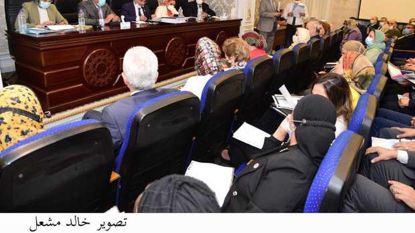 جانب من اجتماع سابق للجنة التعليم بمجلس النواب