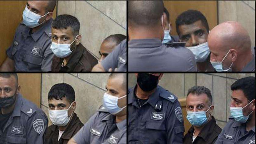 جانب من الأسرى الفلسطينيين الذين أعادت إسرائيل القبض عليهم