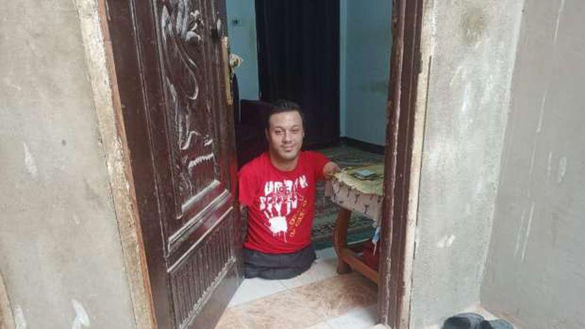 رضا شوقي عامر متحدي الإعاقة