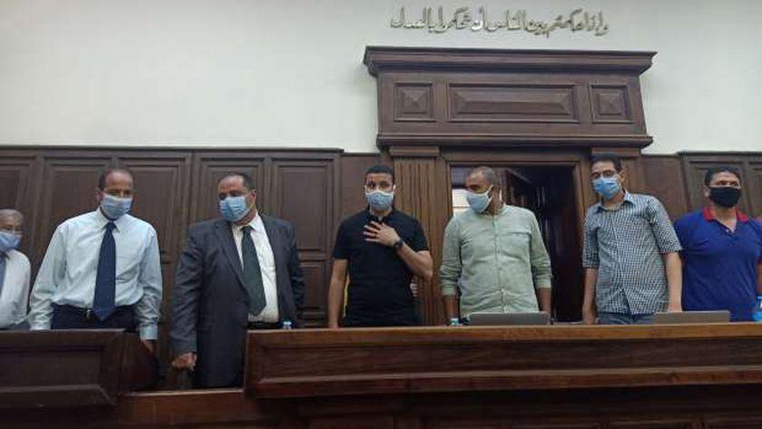 المستشار محمد المشد رئيس محكمة شرق الإسكندرية الابتدائية
