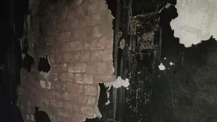 حريق منزل - أرشيفية