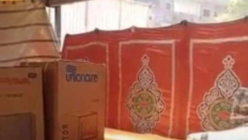 تجهيز العرائس بقرية طهواي بأشمون