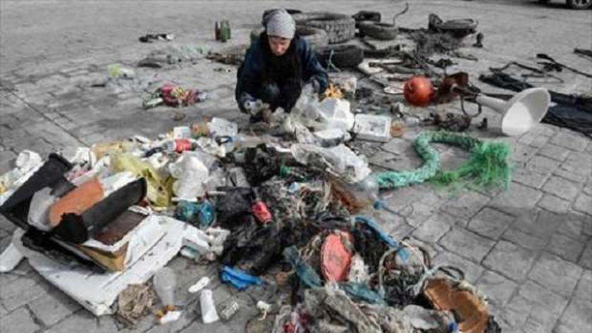 مخلفات بلاستيك