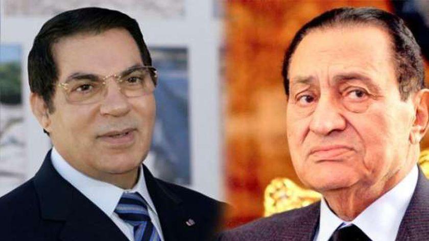 حسني مبارك وزين العابدين بن علي