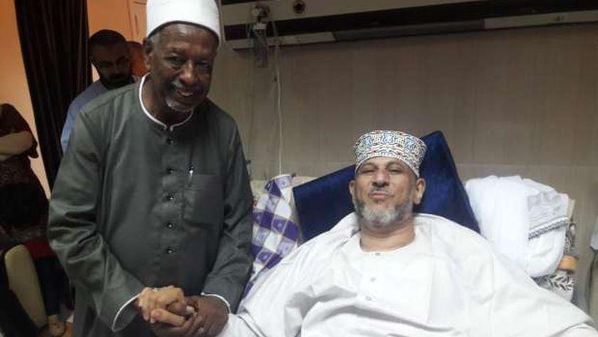 خروج «الإدريسي» بعد تعافيه من عملية جراحية بجامعي أسوان