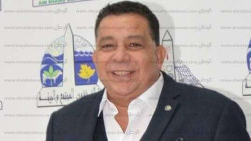 سمير عبد  الناصر أمين عام جامعة عين شمس