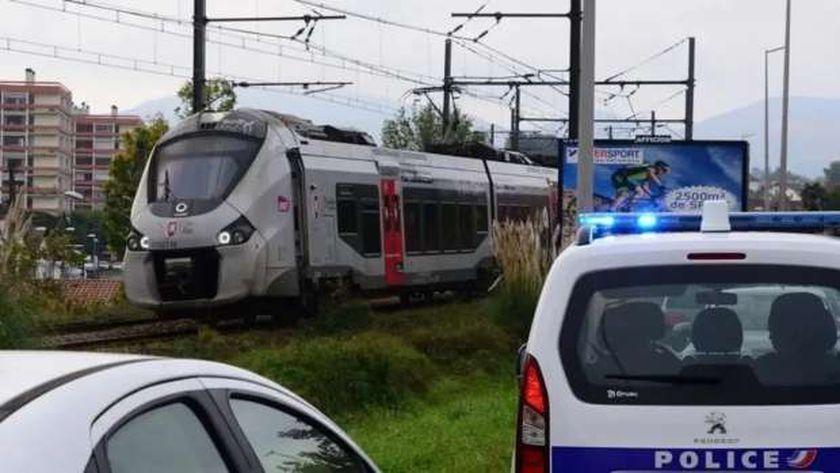 موقع حادث القطار