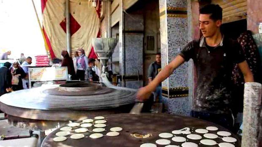 صناعة الكنافة والقطايف بمصر