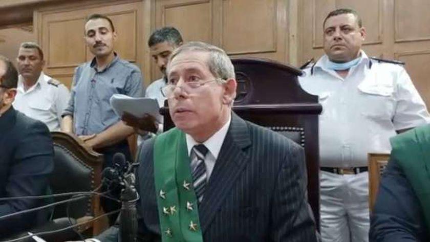 رئيس محكمة جنايات المنصورة