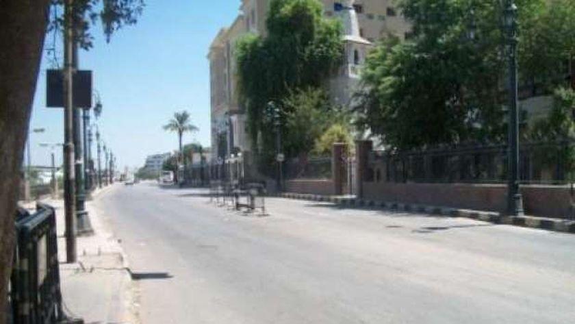 الهدوء يسود شوارع أسيوط ثانى أيام عيد الفطر